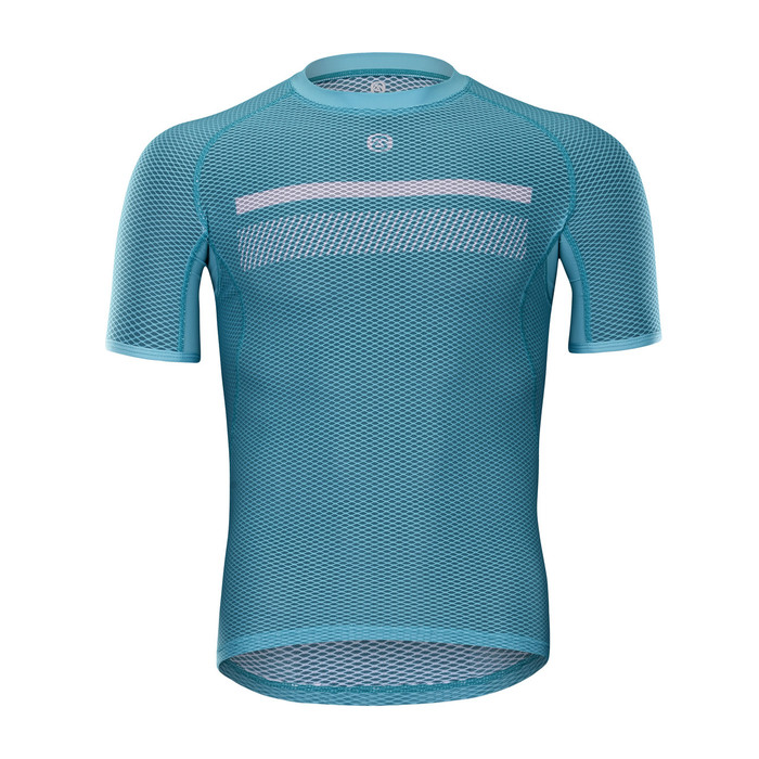 Men's Perseverance S/S Base Layer - celeste