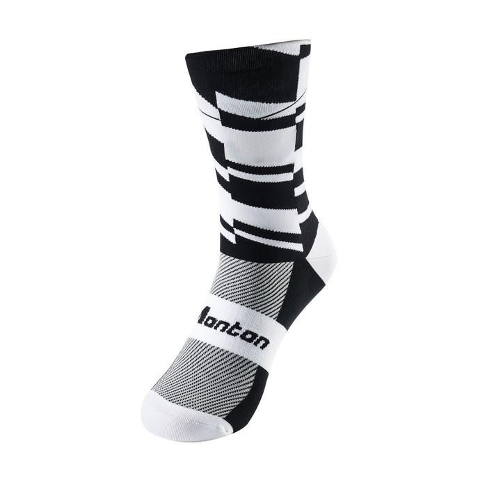 Fearless Cycling Socks - black/white