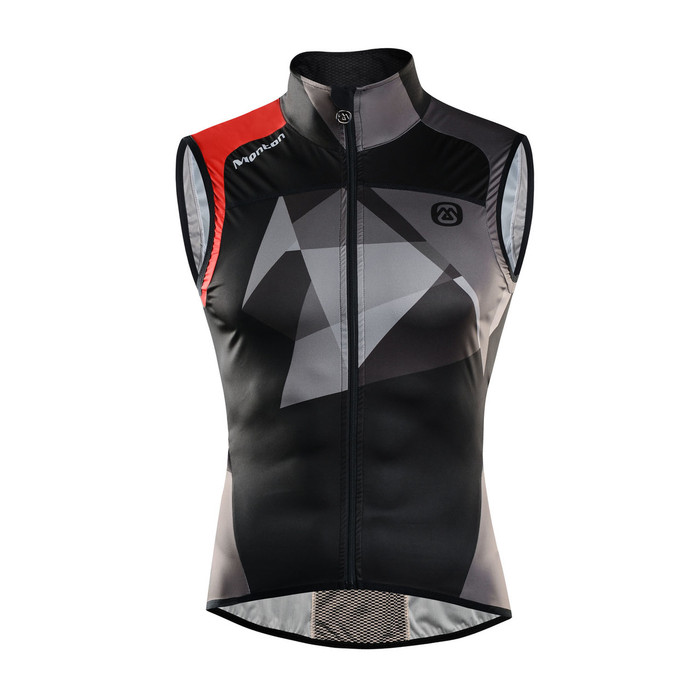 Men's Jason Grey Windproof Gilet