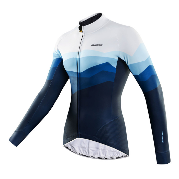 Men's REVO Rock Blue Thermal Cycling Jersey