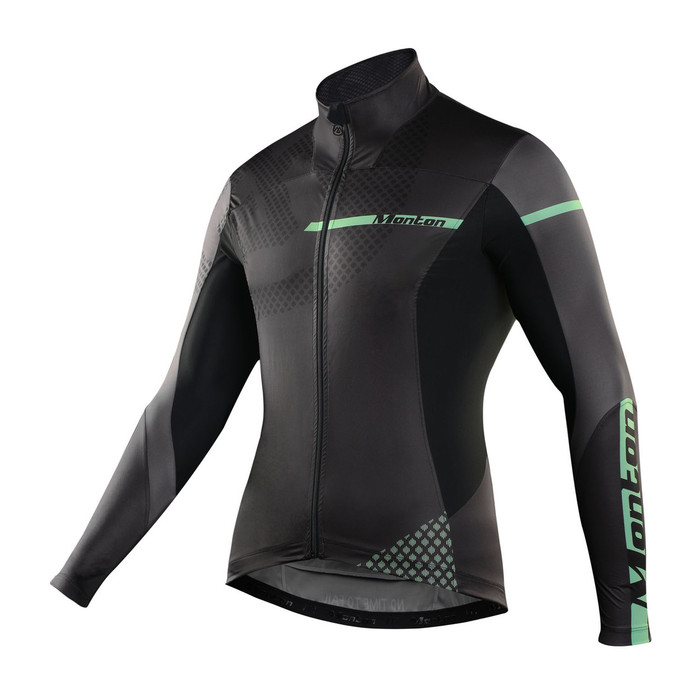 Men's Gavia Black Windbreaker Jacket