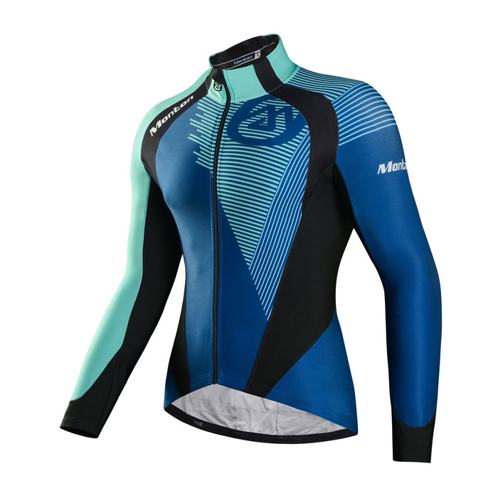 Men's RACE Antelao Blue Thermal Jersey