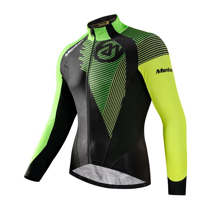 Men's RACE Antelao Neon Green Thermal Jersey