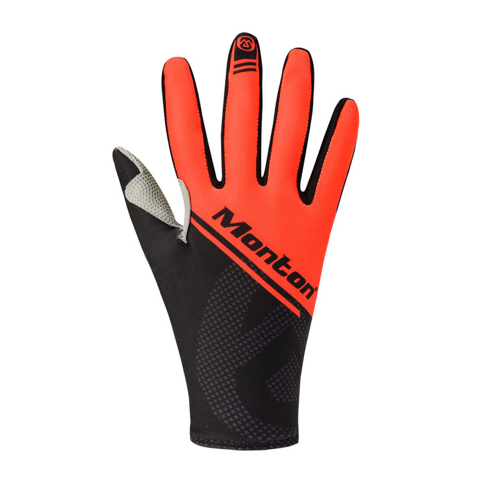 Lenso Thermal Cycling Gloves - black/red