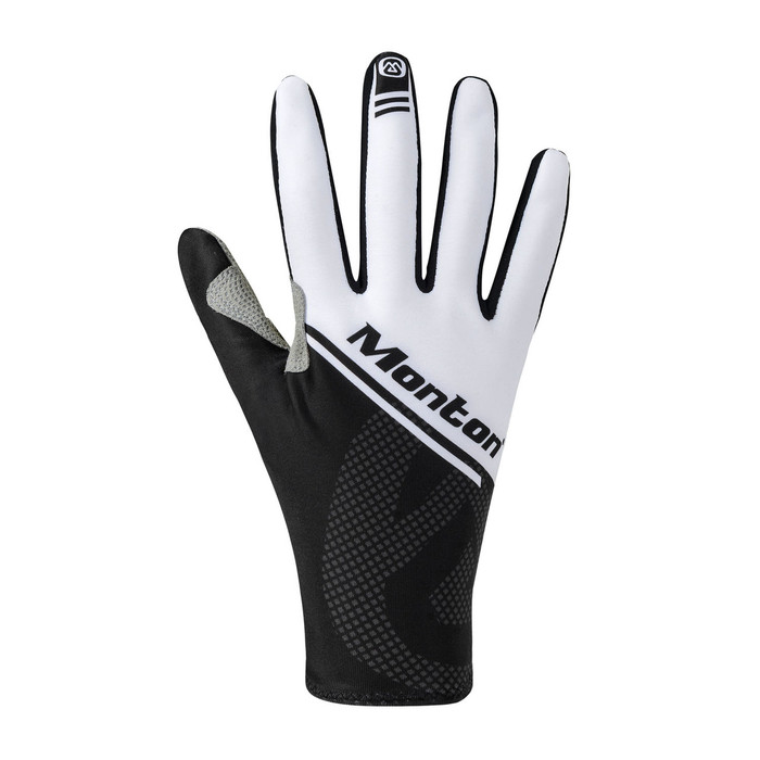 Lenso Thermal Cycling Gloves - black/white