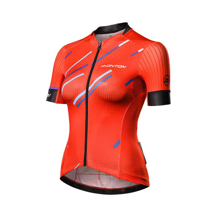 Women's 2018 Urban+ Colore Pioggia red S/S Jersey