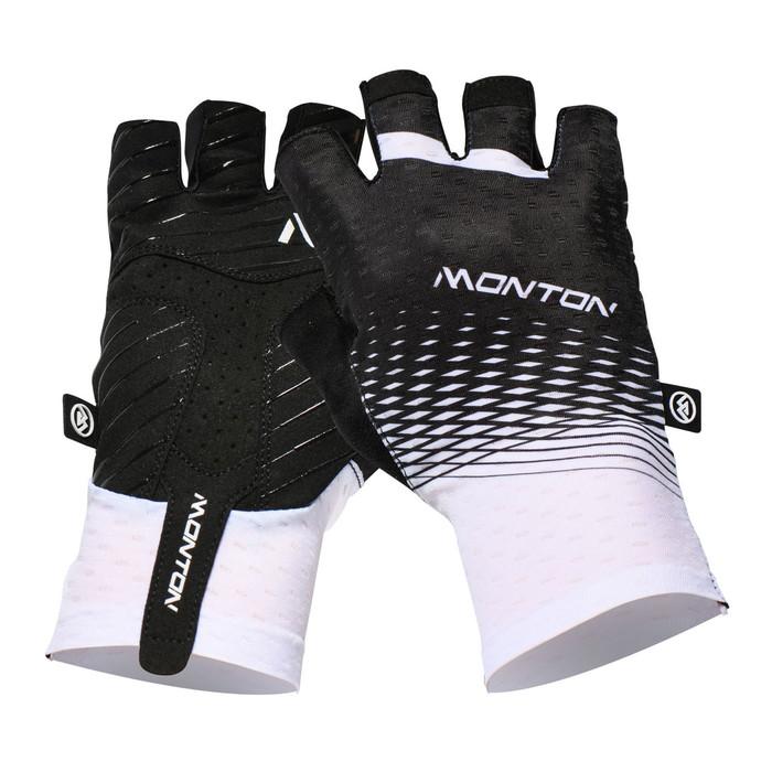 Urban+ 2018 Howain half finger black/white Gloves