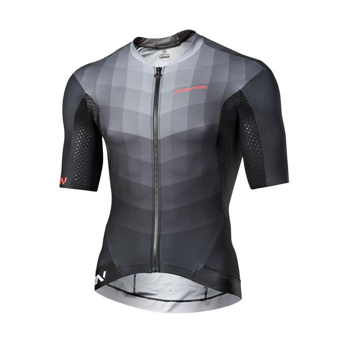 Men's 2018 Pro Cascata black/grey S/S Jersey