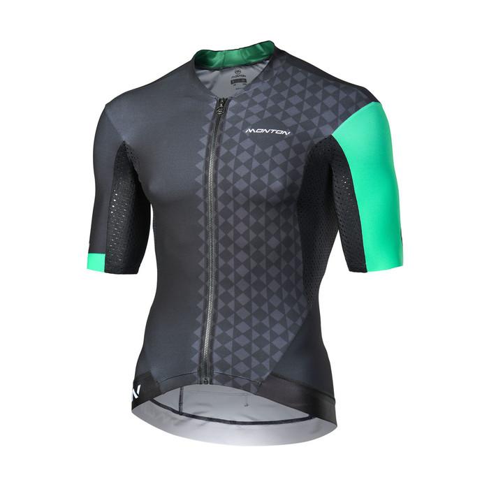 Men's 2018 Pro Eagol black/green S/S Jersey