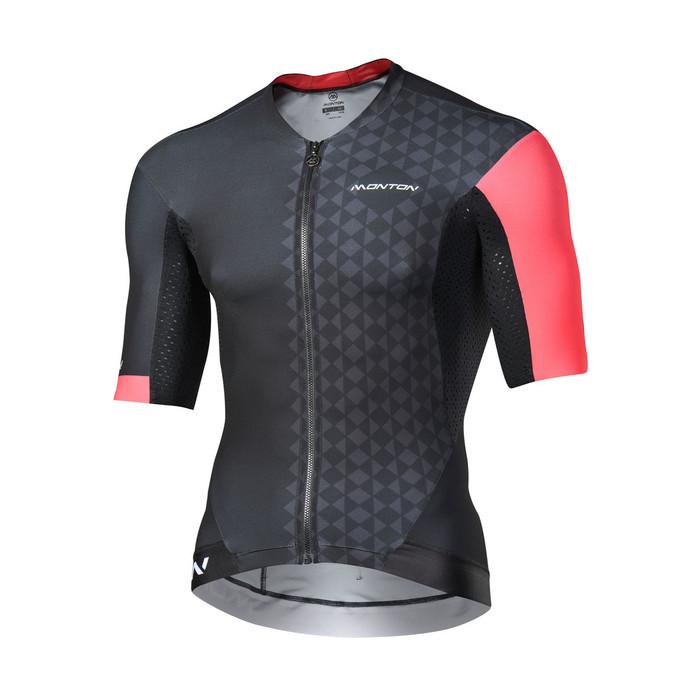 Men's 2018 Pro Eagol black/red S/S Jersey