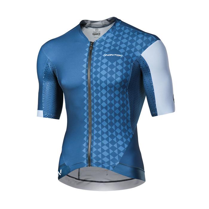 Men's 2018 Pro Eagol blue/grey S/S Jersey