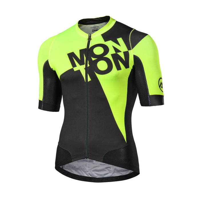 Men's 2018 Urban+ Checkmate black/yellow S/S Jersey