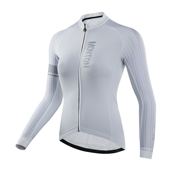 Women's RACE Traveler X white L/S Jersey