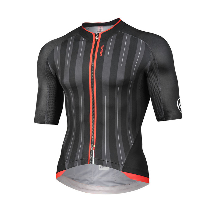 Men's 2018 REVO Gessato (black/red) S/S Jersey