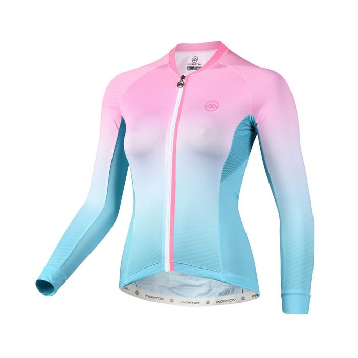 Women's 2018 Urban+ Dawn l/s Jersey - pink/blue