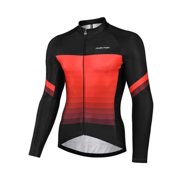 Men's 2018 Urban+ Turtle Thermal Jersey - black/red