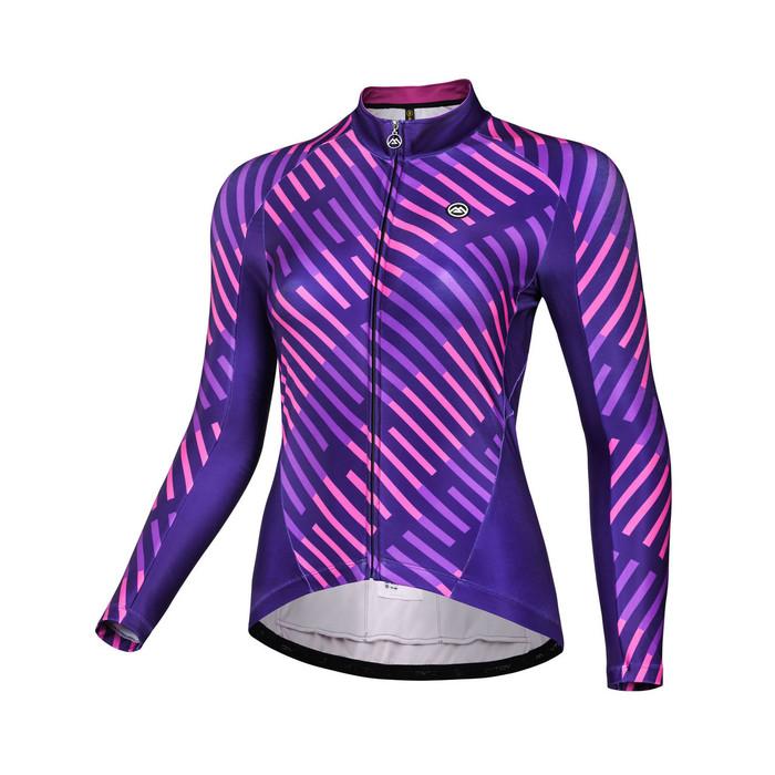 Women's 2018 Urban+ Keyboard Thermal Jersey - purple