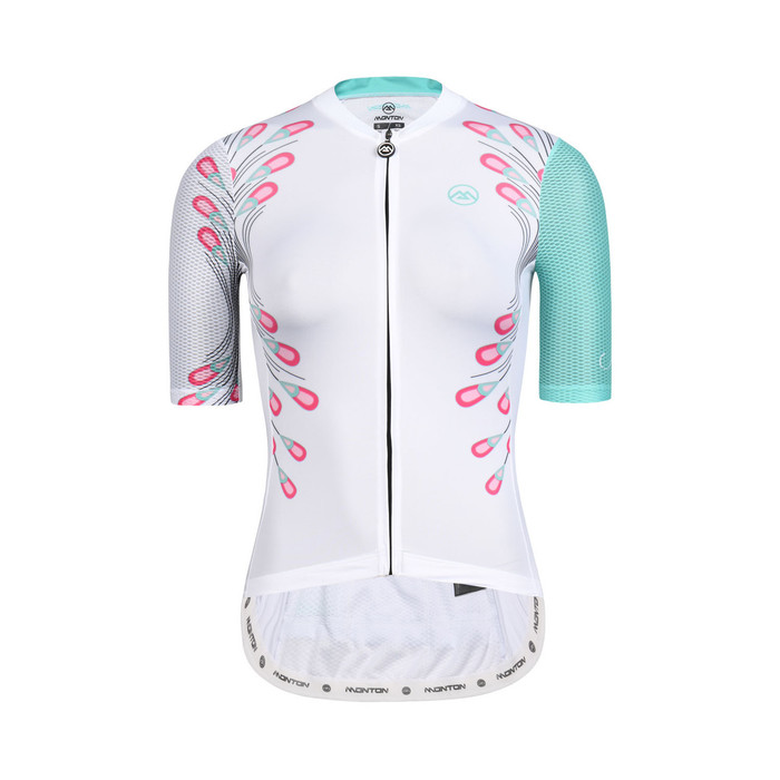 Women's 2019 Lifestyle Peacock Feathers Jersey - white