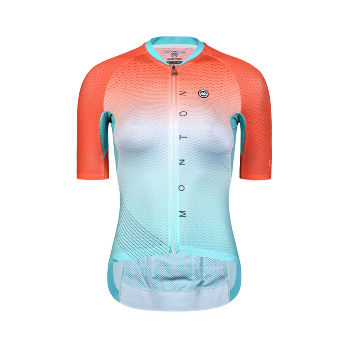 Women's 2019 Pro Neon Jersey - green/orange