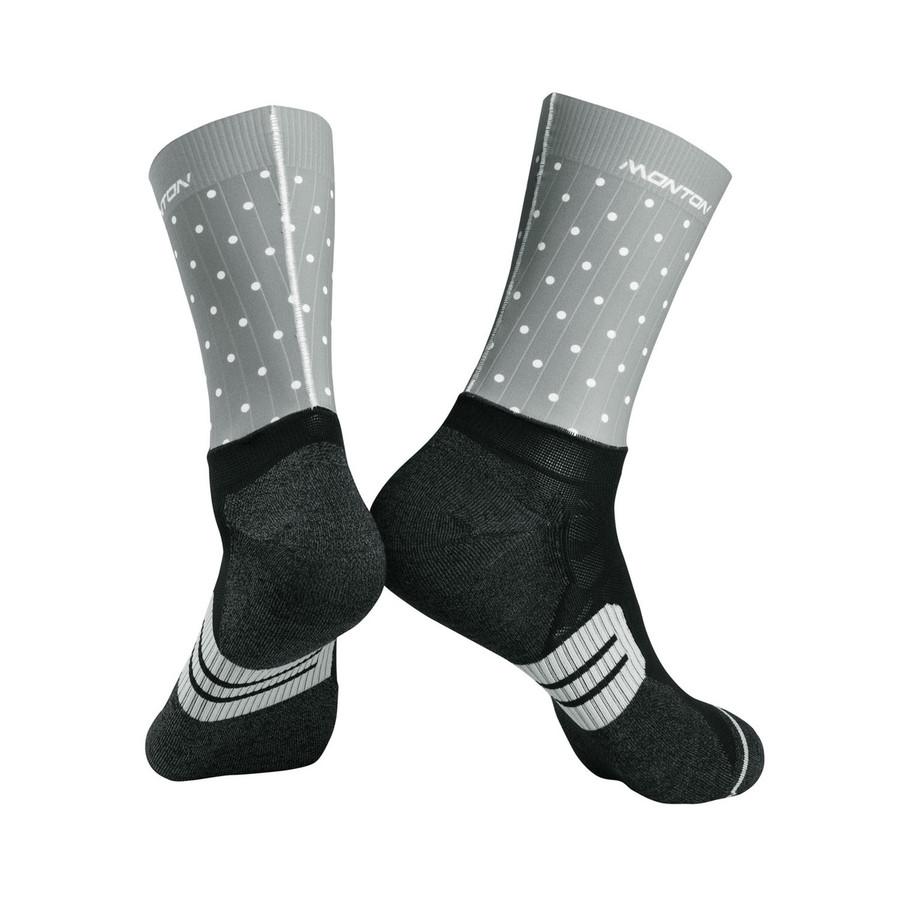 Urban+ 2019 Polka Dot Socks - grey