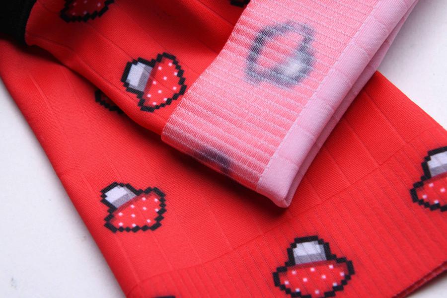 Urban+ 2019 Mushroom short socks - red