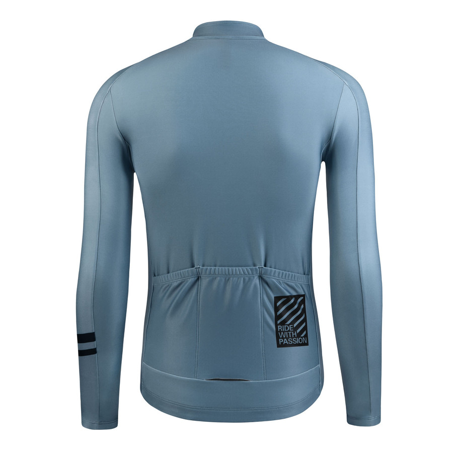 Men's 2019 Urban+ Aenei Thermal l/s Jersey - light slate grey