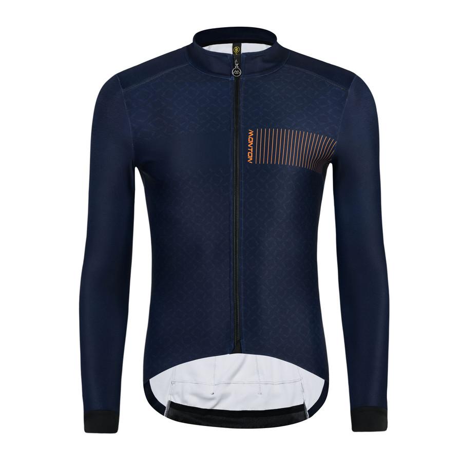 Men's 2019 Pro Piiku Thermal l/s Jersey - dark blue