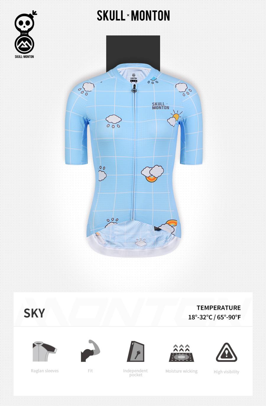 Women's Urban+ Sky Jersey - blue