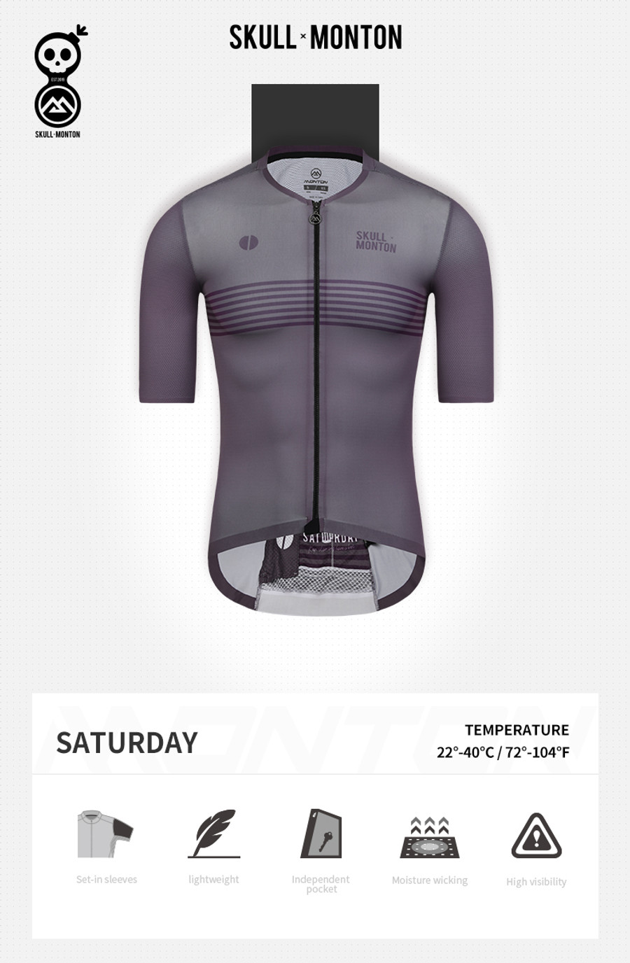 Men's Urban+ Colours Jersey - purple