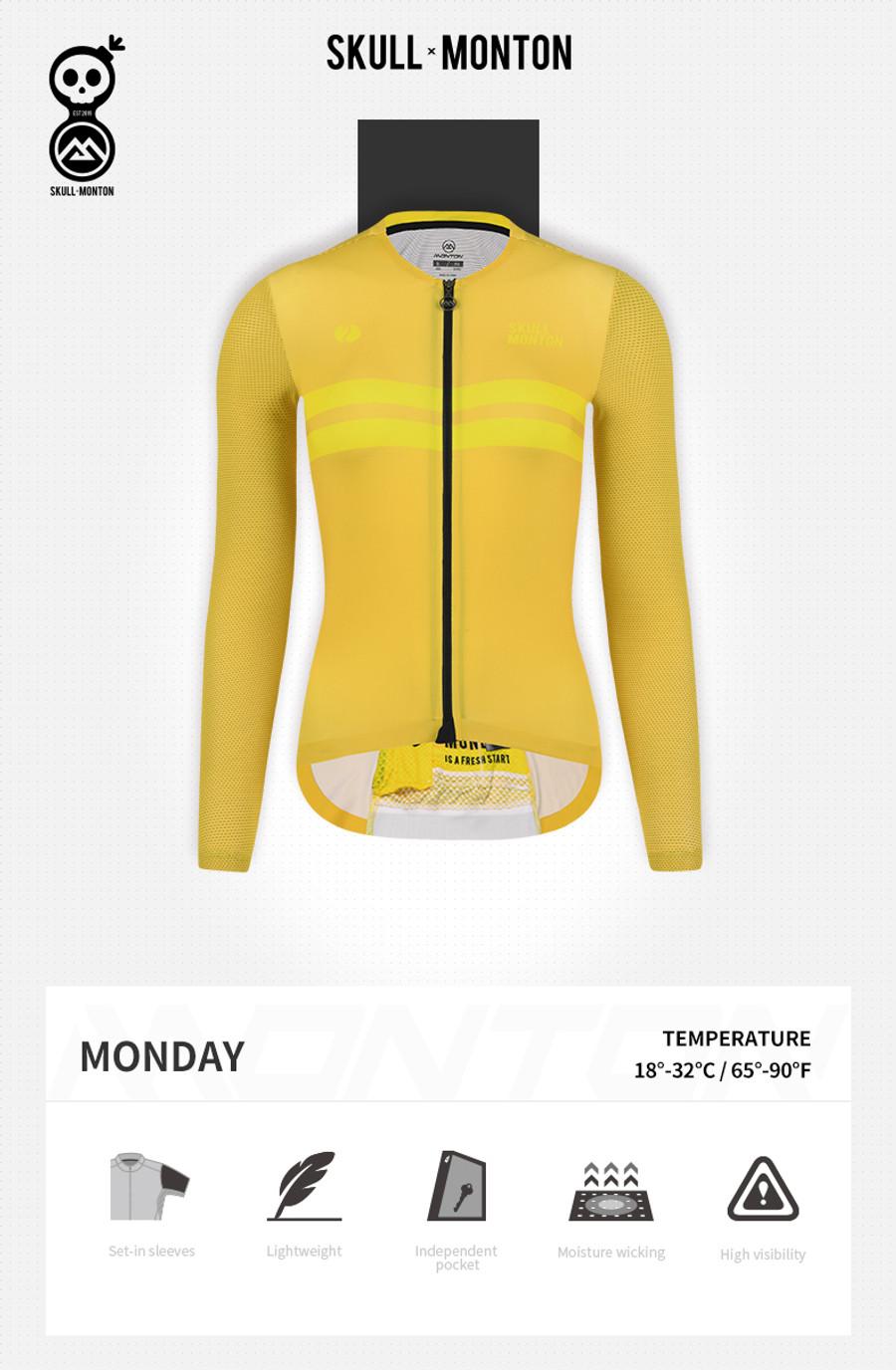 Women's Urban+ Colours l/s Jersey - yellow