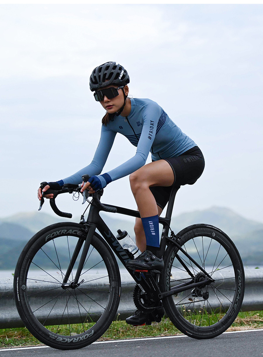 Women's Urban+ Colours l/s Jersey - light steel blue
