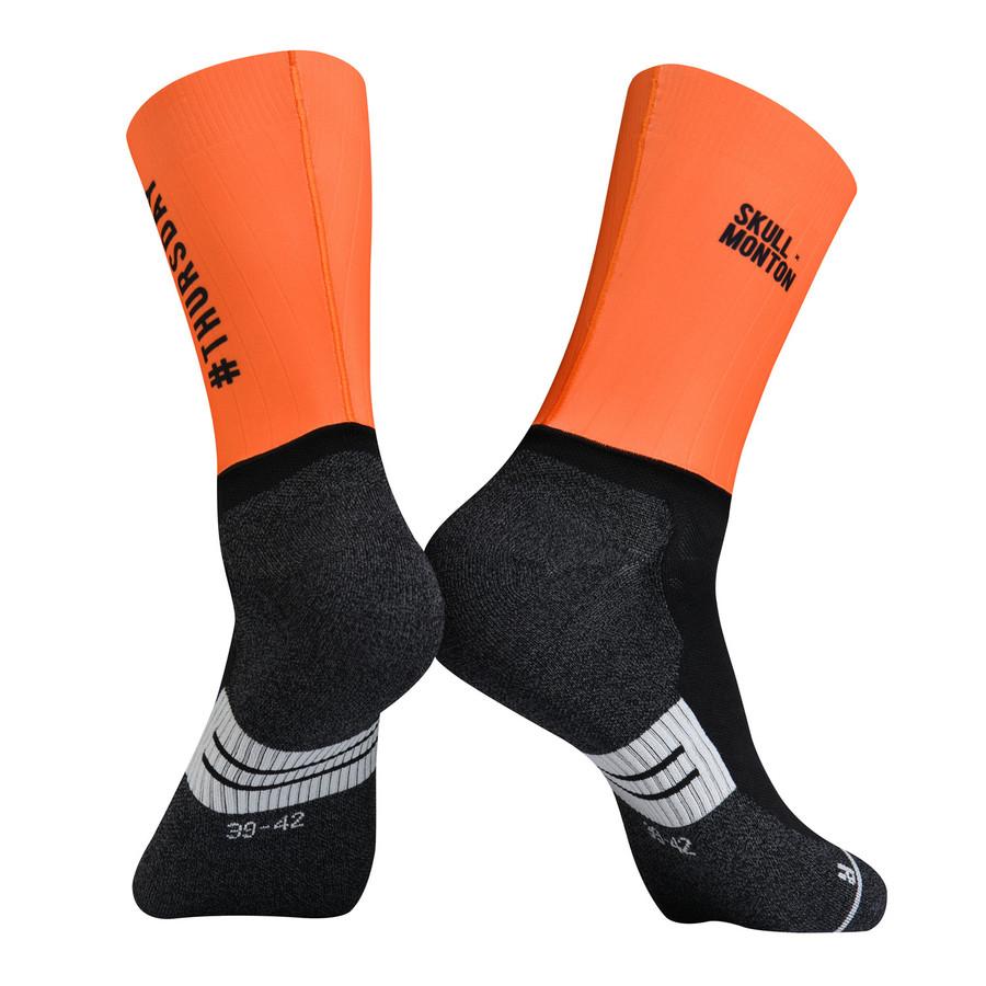 Urban+ Colours Coolmax Socks - orange