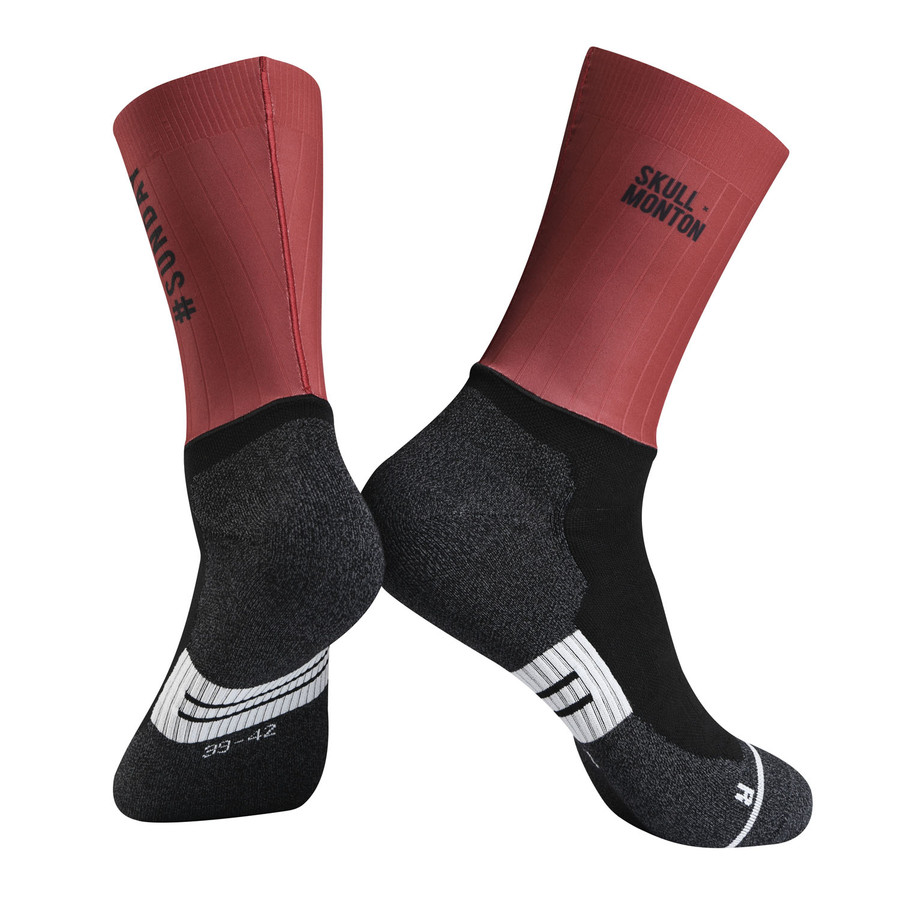 Urban+ Colours Coolmax Socks - red