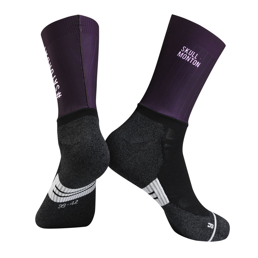 Urban+ Colours Coolmax Socks - purple
