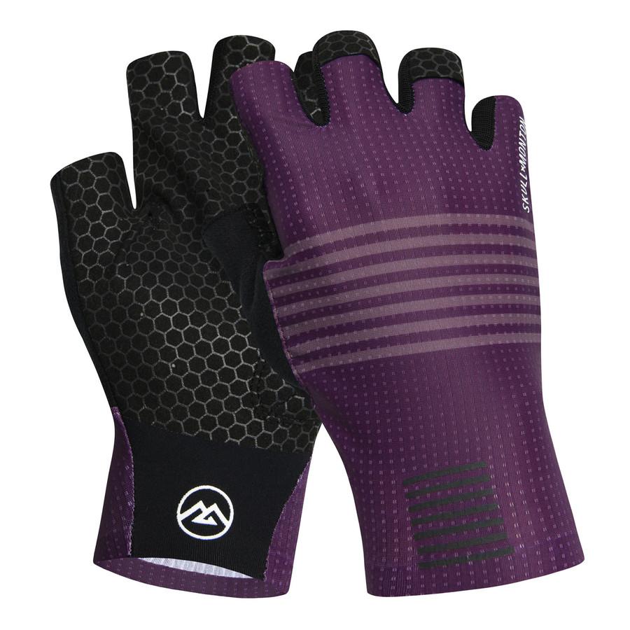 Urban+ Colours Half Ginger Gloves - purple