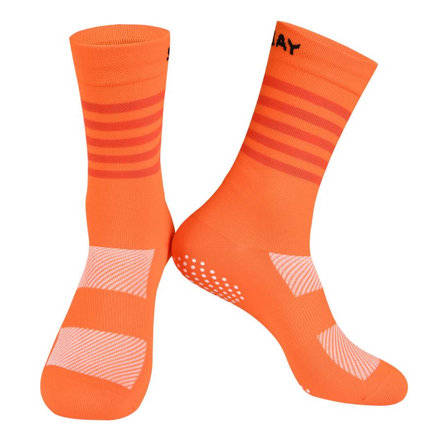 Colours Knitted Socks - orange