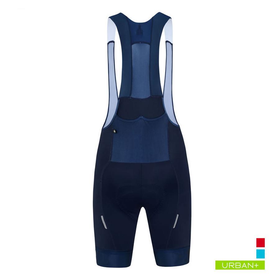 Women's Urban+ Suupaa Bib Shorts - blue