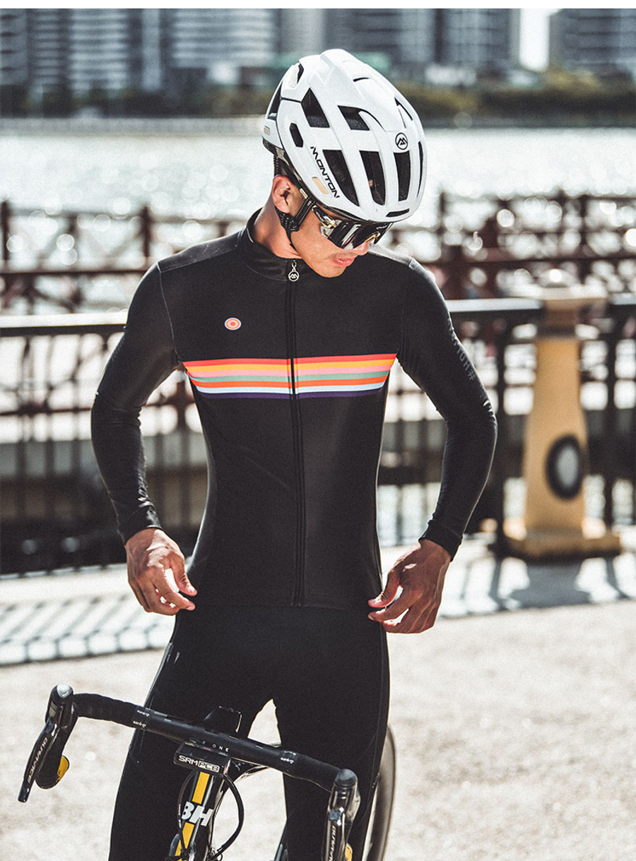 Men's Urban+ Colours l/s Thermal Jersey - black