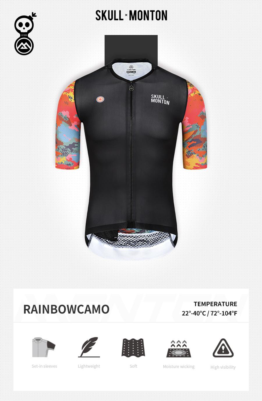 Men's Urban+ Rainbow Camouflage Jersey