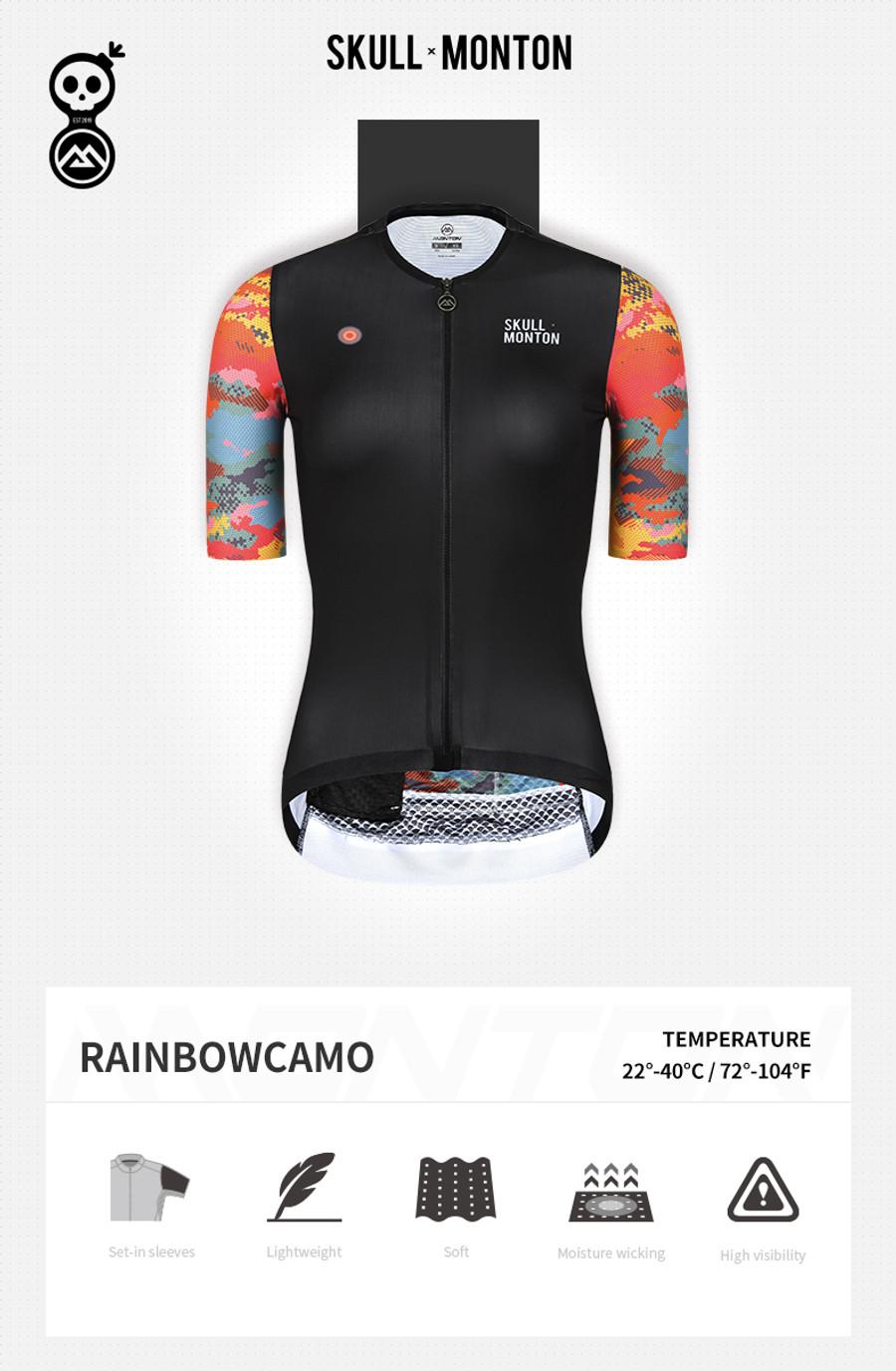 Women's Urban+ Rainbow Camouflage Jersey