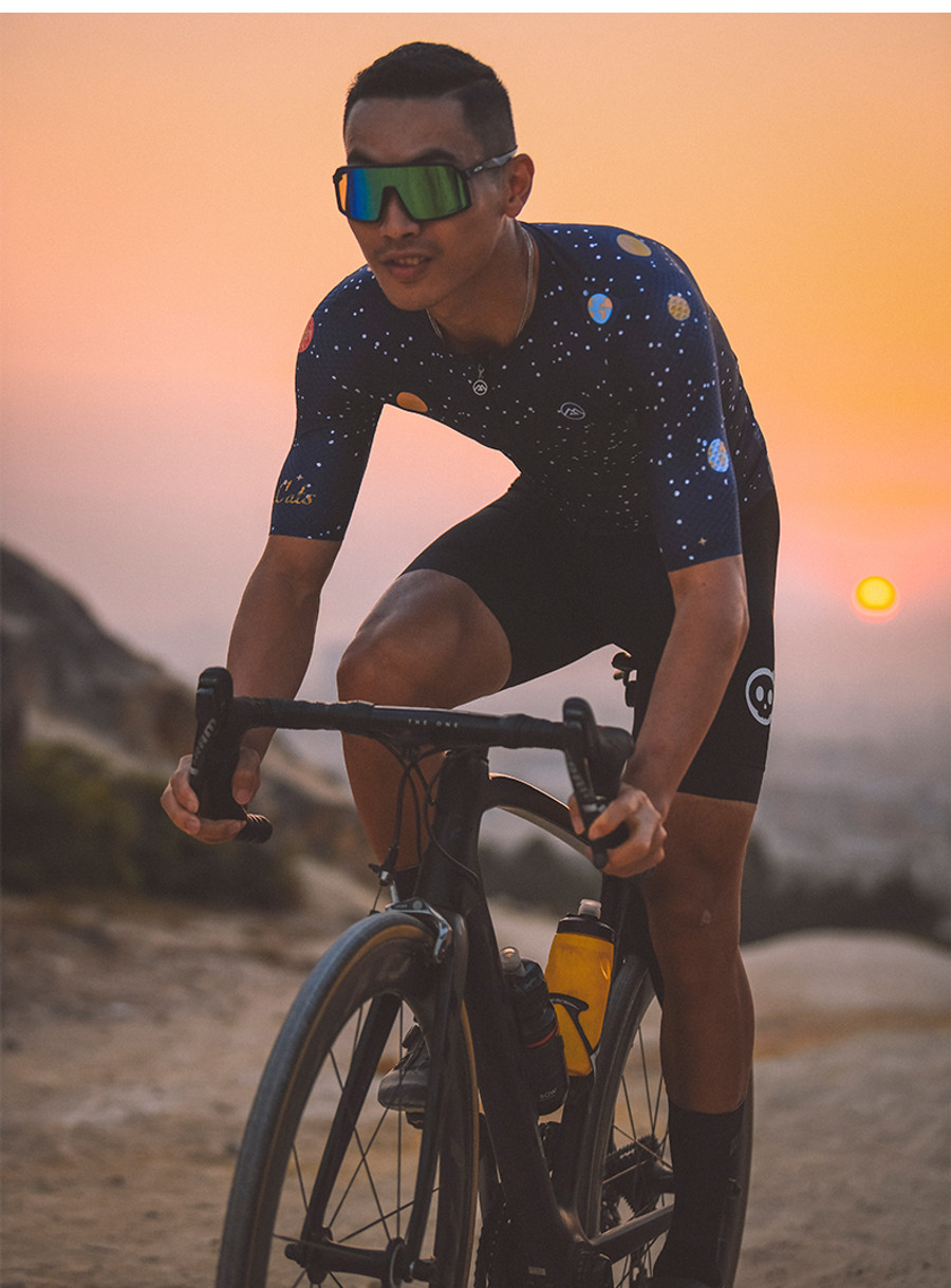 Men's Lifestyle Space Cat Jersey