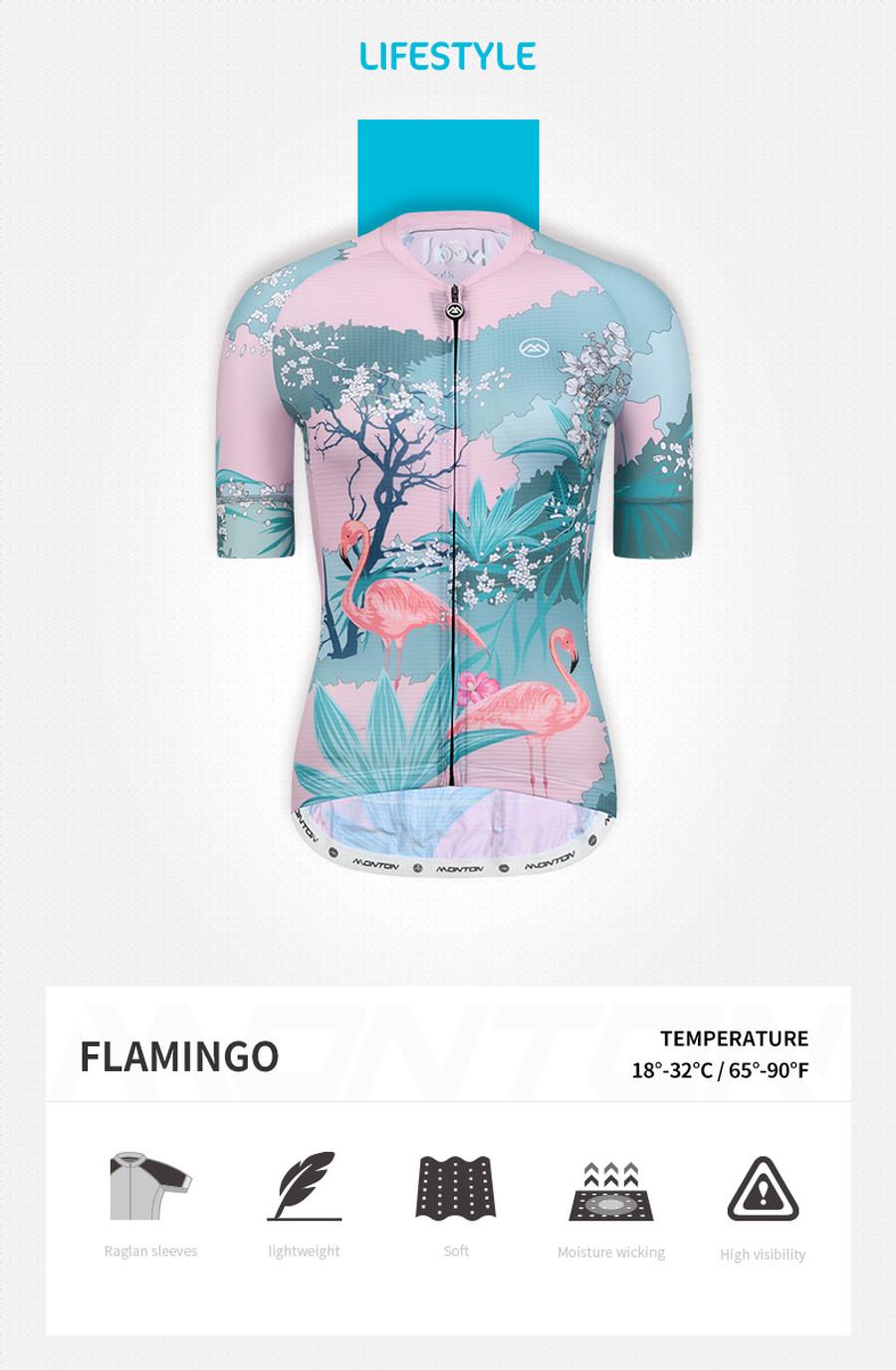 Women's Lifestyle Flamingo Jersey