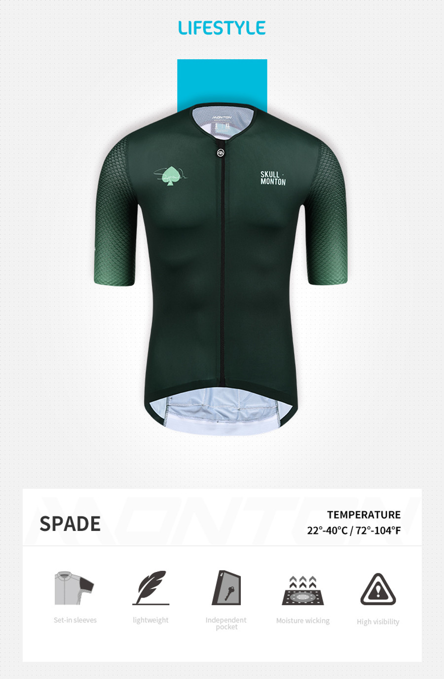 Men's Lifestyle Spades Jersey