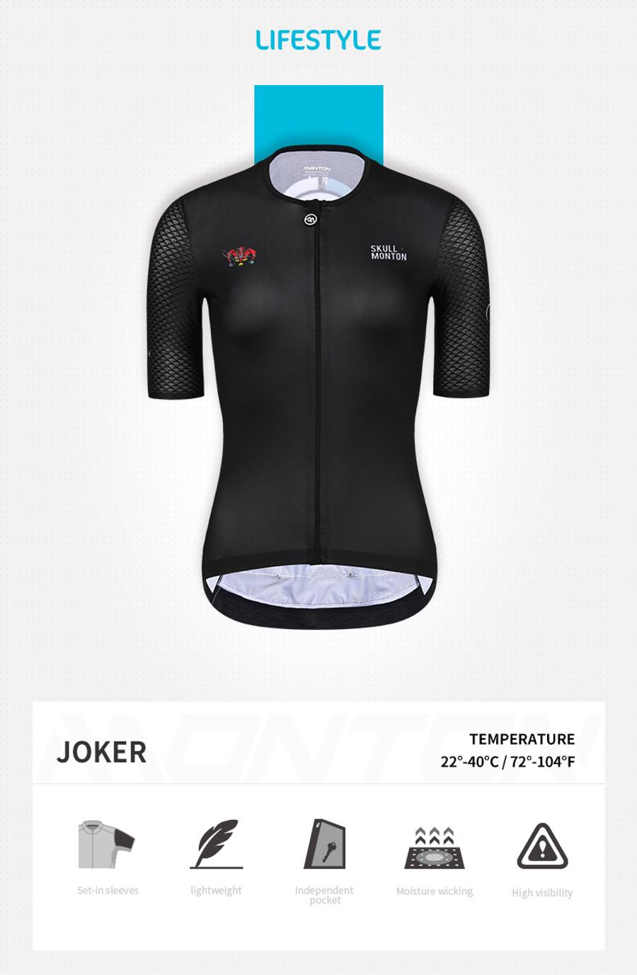 Women's Lifestyle Joker Jersey - black