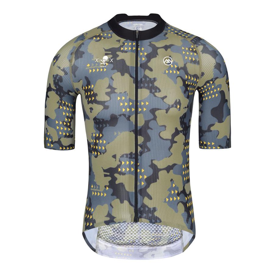 Men's PRO Camou Shield Jersey - Green
