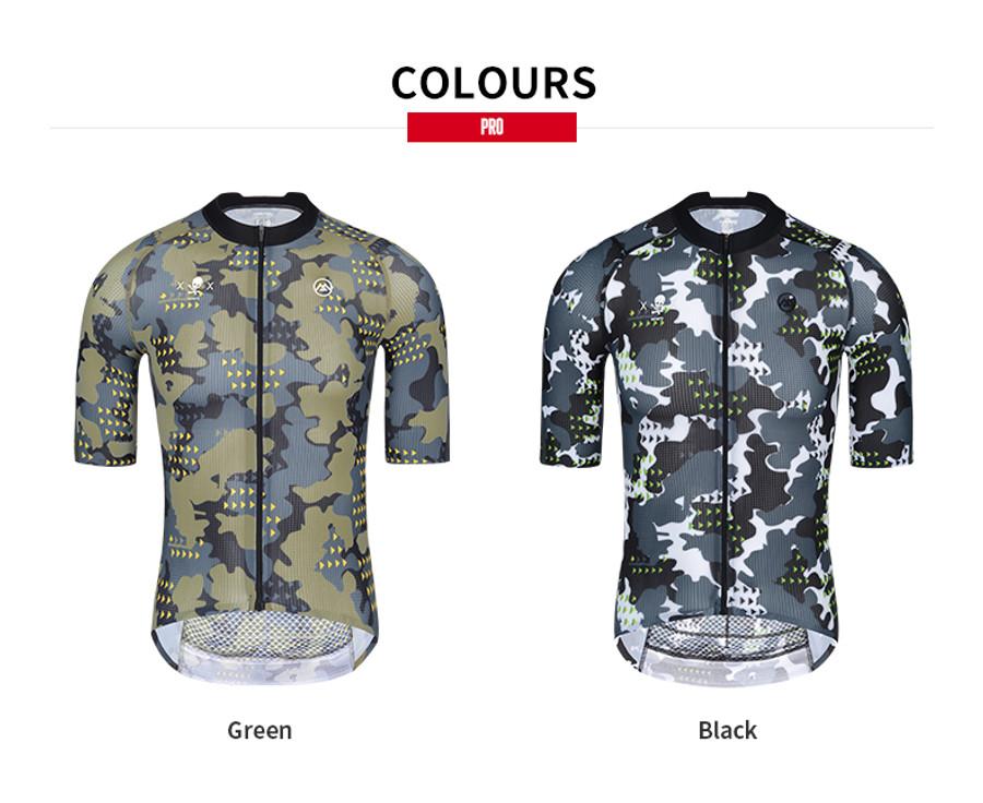 Men's PRO Camou Shield Jersey - Black