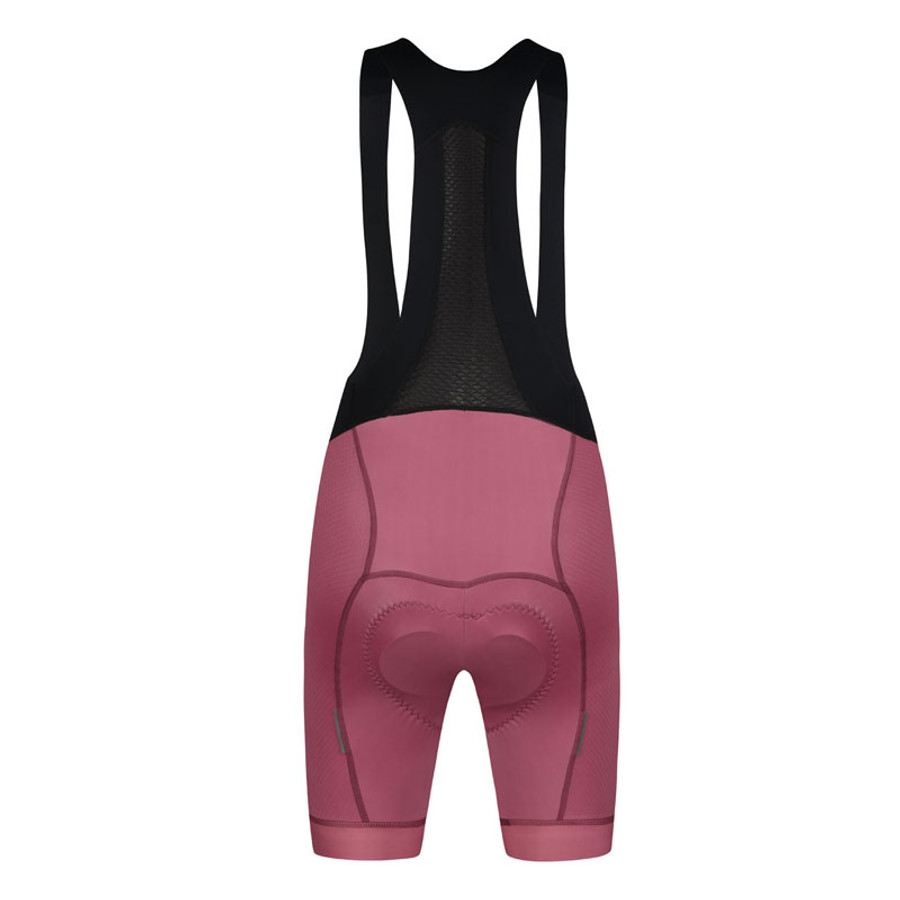 Women's Urban+ 21 Bib Shorts - indian red