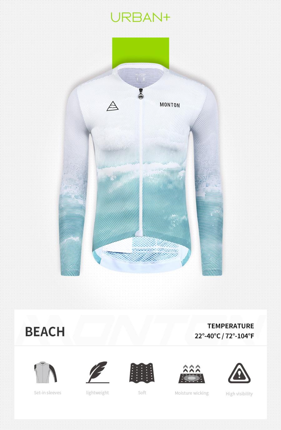 Men's Urban+ Beach l/s Jersey