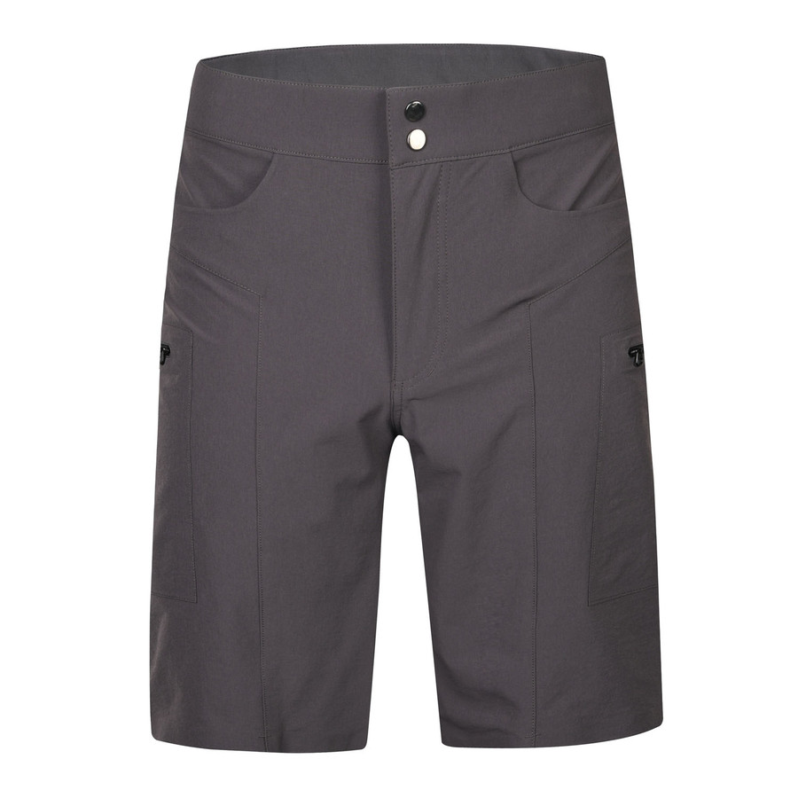 Men's Jankun II MTB Trail and Gravel Shorts - grey