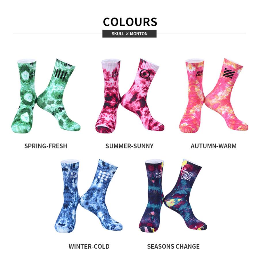 Spring Knitted Socks